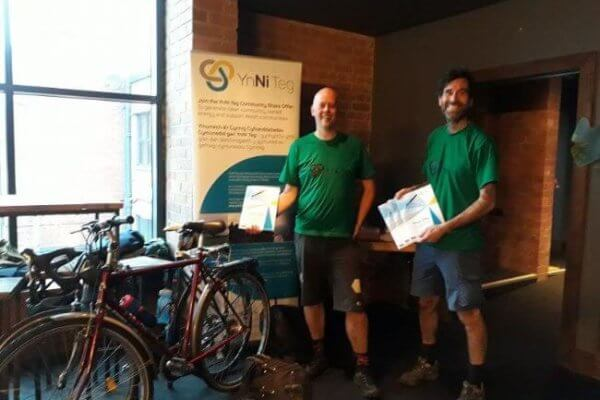Directors complete a 90 mile bike ride