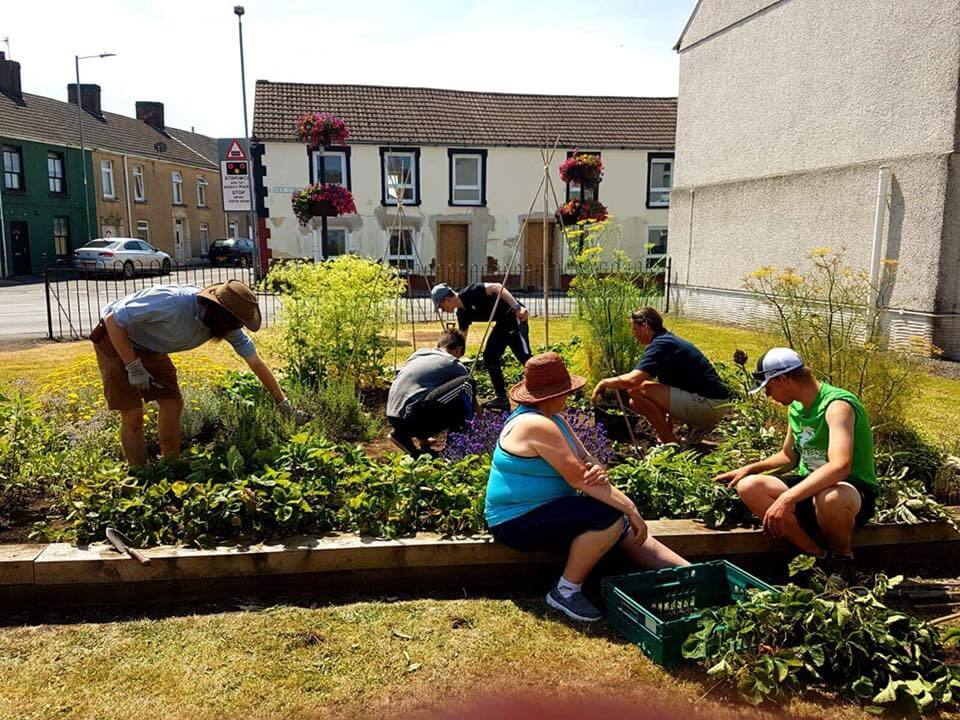 Food from the ground up - (How small community food projects can make a big difference)
